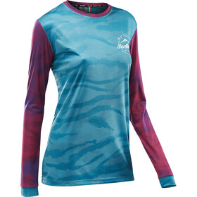 Northwave Enduro Trikot Langarm Damen water blue